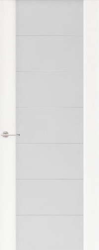 Дверь Capri-3, Глянец белый, стекло