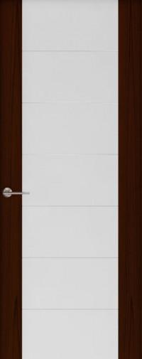 Дверь Capri-3, Ясень винтаж, стекло