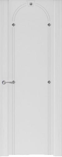 Дверь Murano 3, Ясень серый, стекло