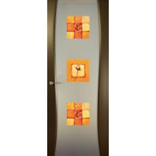 Буревестник-2, Венге, остекленная с рисунком