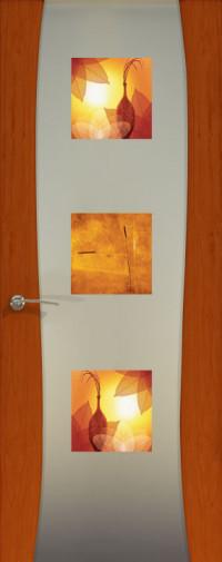 Буревестник-2, Красное дерево, остекленная с рисунком