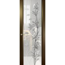 Шторм-3, Венге, Растение-2 с прозрачным стеклом