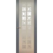 Дверь de Vesta Concept, Серебристый дуб, остекление P