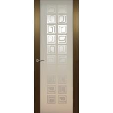 Дверь de Vesta Concept, Венге, остекление P