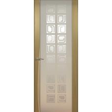 Дверь de Vesta Concept, Орех светлый, остекление P
