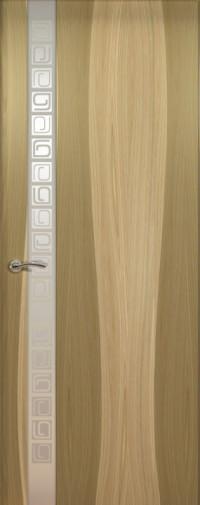 Дверь de Vesta Concept, Орех светлый, остекление L