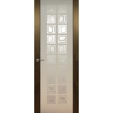 Дверь de Vesta Concept, Эбен светлый, остекление P