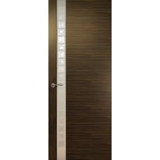 Дверь de Vesta Concept, Эбен светлый, остекление L