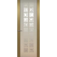 Дверь de Vesta Concept, Серый дуб, остекление P