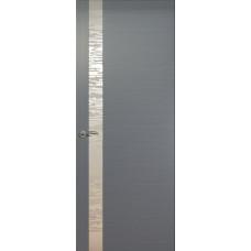 Дверь de Vesta EGO, Серебристый дуб, остекление L