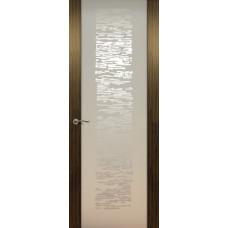 Дверь de Vesta EGO, Эбен светлый, остекление P
