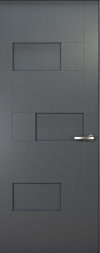 Дверь de Vesta Matrix, Серебристый дуб, Глухое