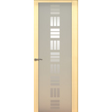 Дверь de Vesta Nova, Беленый дуб, стекло белое