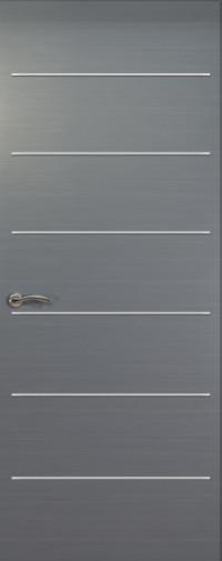 Дверь de Vesta Sigma, Серебристый дуб, Глухое