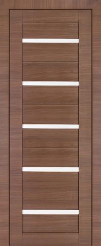 Profil Doors 7X Малага Черри Кроскут, Стекло матовое