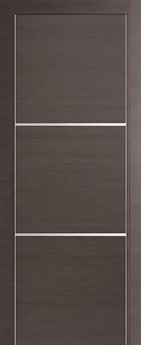 Profil Doors 2Z Грей Кроскут, Глухое
