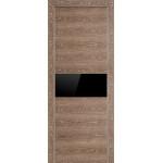 Profil Doors 4Z Транкайс светлый Черный глянцевый лак, остекление