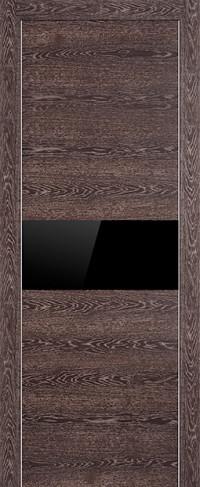 Profil Doors 4Z Транкайс темный Черный глянцевый лак, остекление