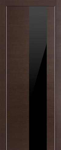 Profil Doors 5Z Венге Черный глянцевый лак