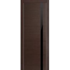Profil Doors 6Z Венге Черный глянцевый лак