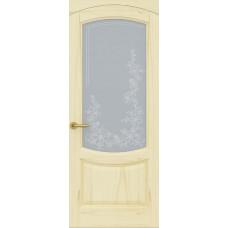 Дверь Лувр, Слоновая кость, Стекло