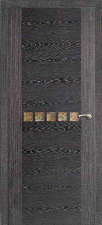 Дверь Оникс Акцент, тангентальный абрикос