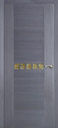Дверь Оникс Акцент, серый дуб