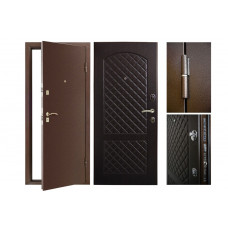 Входная дверь Дворецкий комплектация на базе фрезерованной панели 16 мм