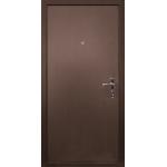 Дверь входная Патриот 210, Венге