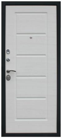 Входная дверь Фортуна беленый дуб