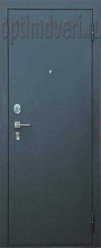 Дверь входная Оптим M-5, Черный шелк, капучино