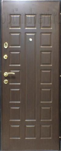 Дверь входная металлическая Престиж, венге