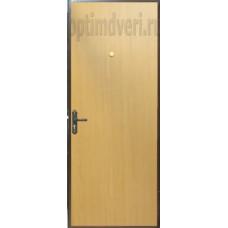 Дверь входная Эконом, миланский орех